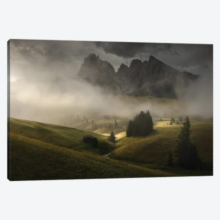 The Lost Kingdom Canvas Print #EFS84} by Enrico Fossati Art Print