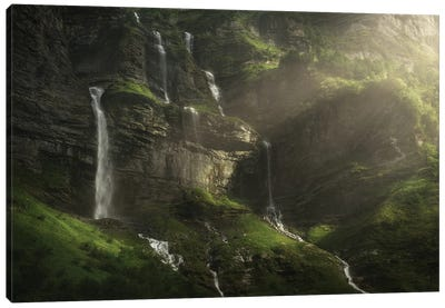 Enchanted Valley Canvas Art Print
