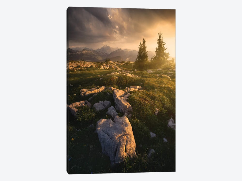 The Light Is Coming by Enrico Fossati 1-piece Canvas Art
