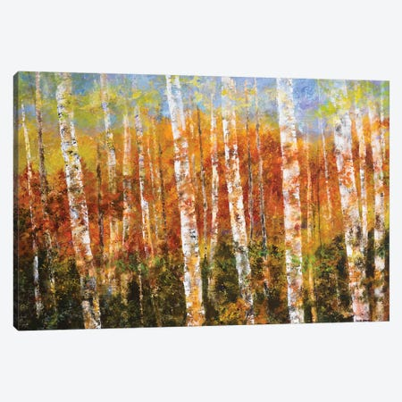 Autumn View 3-Piece Canvas #EGR1} by Edith Green Canvas Print