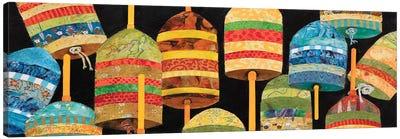 Buoy Collage Panel Canvas Art Print
