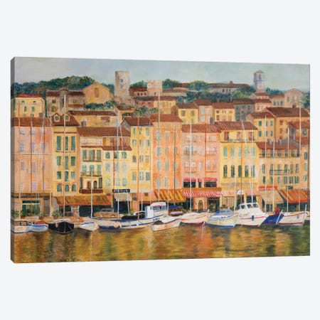 Cote d'Azur Canvas Print #EGR4} by Edith Green Canvas Artwork