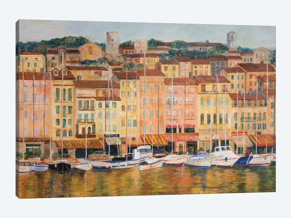 Cote d'Azur by Edith Green 1-piece Canvas Art