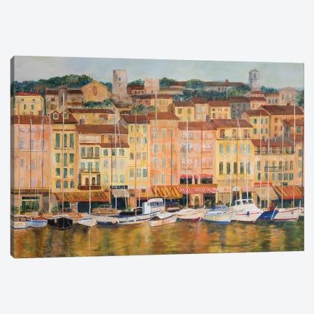 Cote d'Azur Canvas Print #EGR4} by Edith Green Canvas Artwork