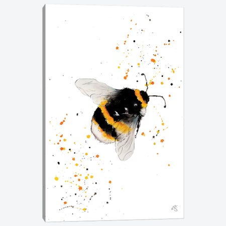 Just Buzzin Around Canvas Print #EGT12} by Elizabeth Grant Canvas Art Print