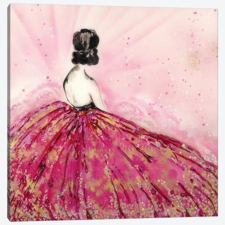 Mille Fleurs Canvas Print #EGT15} by Elizabeth Grant Canvas Wall Art