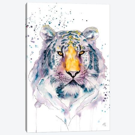 Tiger Canvas Print #EGT29} by Elizabeth Grant Canvas Artwork