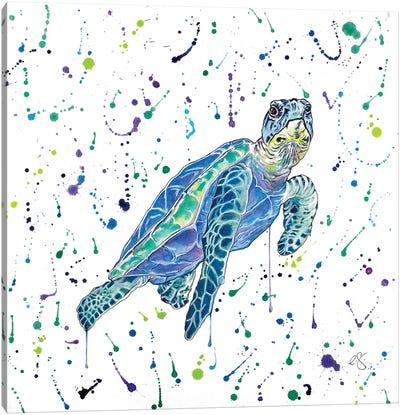 Turtle Canvas Art Print