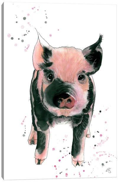 Cutie Pie Canvas Art Print