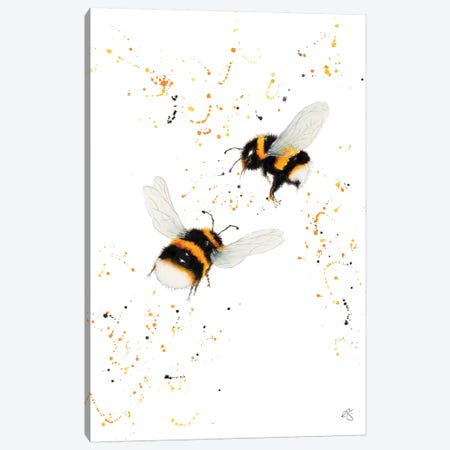 Dance of The Bumble Bees Canvas Print #EGT4} by Elizabeth Grant Canvas Artwork