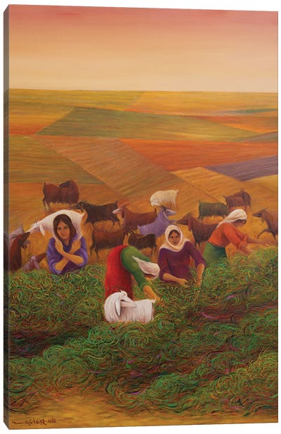 Harvest Season Canvas Art Print