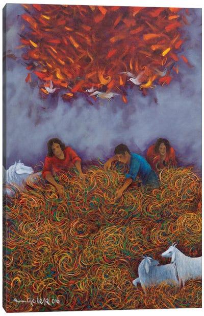 Phoenix's Dreams Canvas Art Print