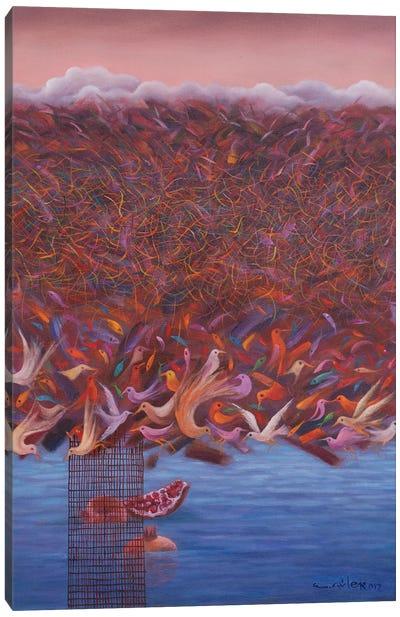 The Last Of The Birds Canvas Art Print