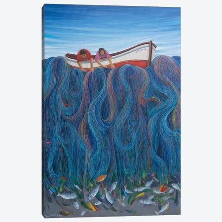 Chasing Hope Canvas Print #EGU5} by Emin Güler Art Print