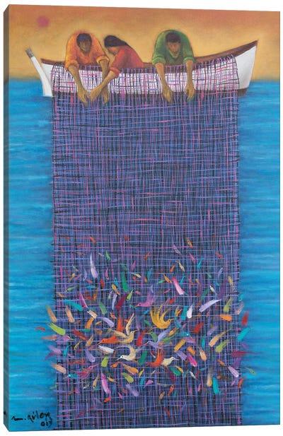 Chasing Kismet Canvas Art Print