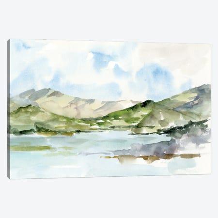 Serene Mountains I Canvas Print #EHA1003} by Ethan Harper Canvas Art