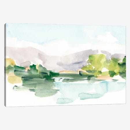 Tangerine Sunset II Canvas Print #EHA1008} by Ethan Harper Canvas Wall Art