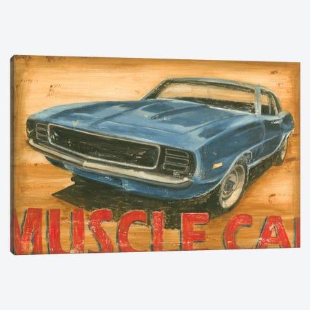 Vintage Muscle II 3-Piece Canvas #EHA101} by Ethan Harper Art Print