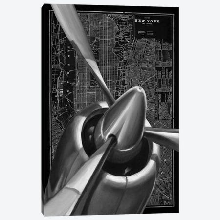 Vintage Plane I Canvas Print #EHA102} by Ethan Harper Canvas Art Print