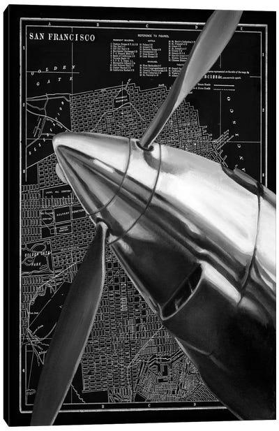 Vintage Plane II Canvas Print #EHA103