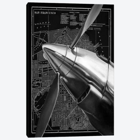 Vintage Plane II Canvas Print #EHA103} by Ethan Harper Canvas Print