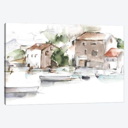 Serene Lakefront II Canvas Print #EHA1051} by Ethan Harper Art Print