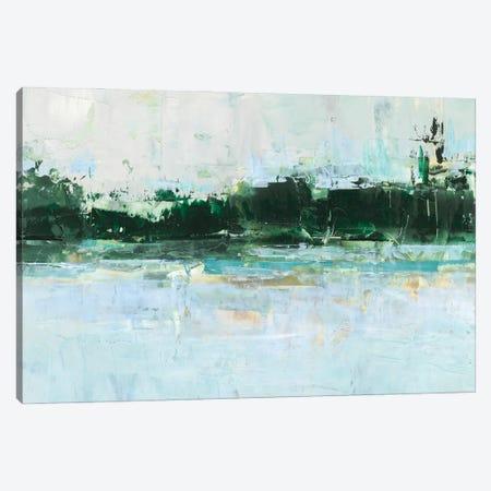 Treelined Waterfront II Canvas Print #EHA1062} by Ethan Harper Canvas Art