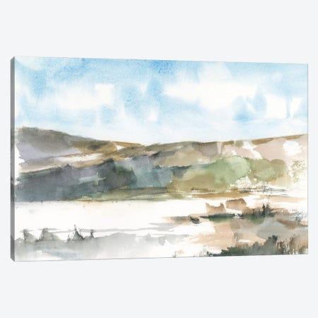 Western Lake Study II Canvas Print #EHA1065} by Ethan Harper Art Print