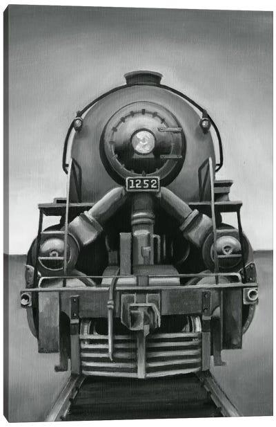 Vintage Train Canvas Print #EHA106