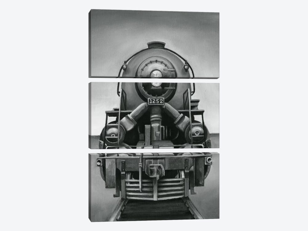 Vintage Train by Ethan Harper 3-piece Canvas Artwork