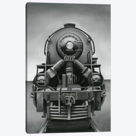Vintage Train Canvas Print #EHA106} by Ethan Harper Canvas Artwork