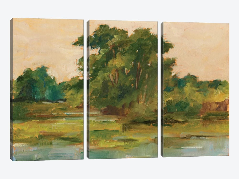 Changing Sunlight I by Ethan Harper 3-piece Canvas Art Print