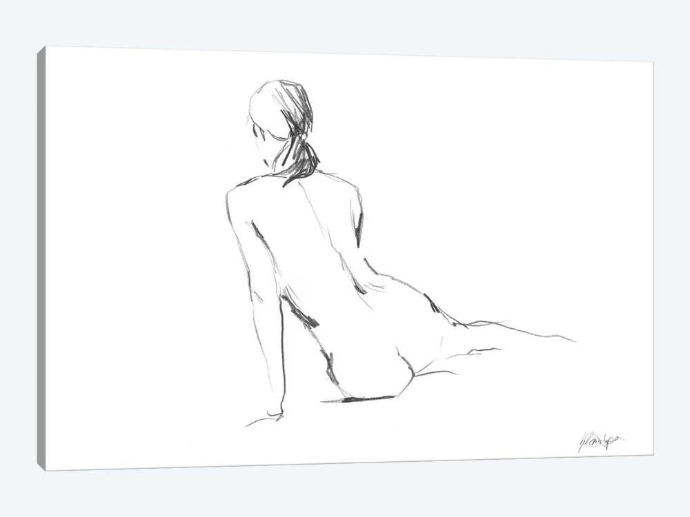 Figure Contour I by Ethan Harper 1-piece Canvas Artwork