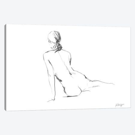 Figure Contour I Canvas Print #EHA115} by Ethan Harper Art Print