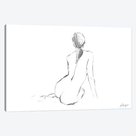 Figure Contour II Canvas Print #EHA116} by Ethan Harper Canvas Art Print