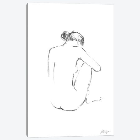 Figure Contour III Canvas Print #EHA117} by Ethan Harper Canvas Art Print