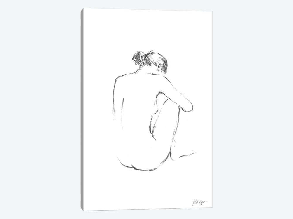 Figure Contour III by Ethan Harper 1-piece Canvas Wall Art