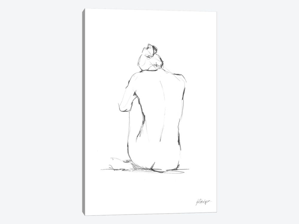 Figure Contour IV by Ethan Harper 1-piece Canvas Art Print