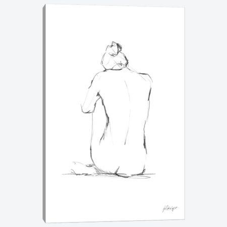 Figure Contour IV Canvas Print #EHA118} by Ethan Harper Canvas Artwork