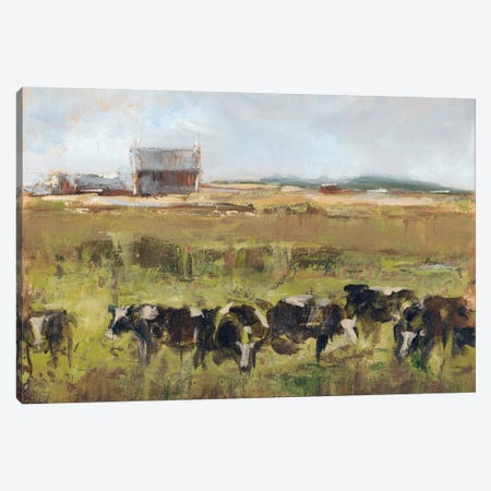 Out To Pasture I Canvas Print #EHA124} by Ethan Harper Canvas Wall Art