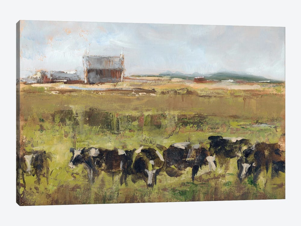 Out To Pasture I by Ethan Harper 1-piece Canvas Art