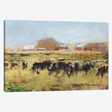 Out To Pasture II Canvas Print #EHA125} by Ethan Harper Canvas Art
