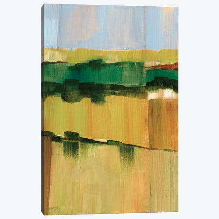 Pasture Abstract I Canvas Print #EHA126} by Ethan Harper Canvas Artwork