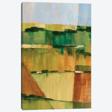Pasture Abstract II Canvas Print #EHA127} by Ethan Harper Canvas Art