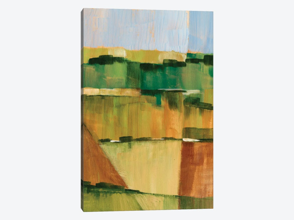 Pasture Abstract II 1-piece Art Print