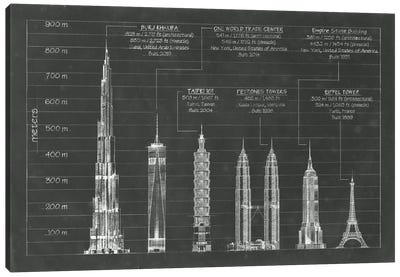 Architectural Heights Canvas Art Print