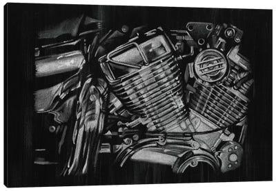Polished Chrome I Canvas Print #EHA130