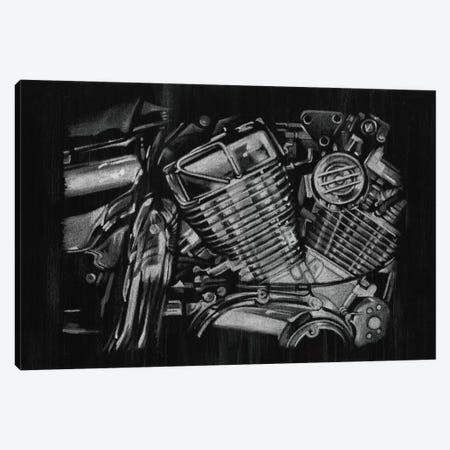 Polished Chrome I 3-Piece Canvas #EHA130} by Ethan Harper Canvas Wall Art