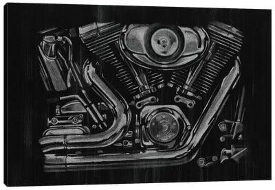Polished Chrome II Canvas Print #EHA131