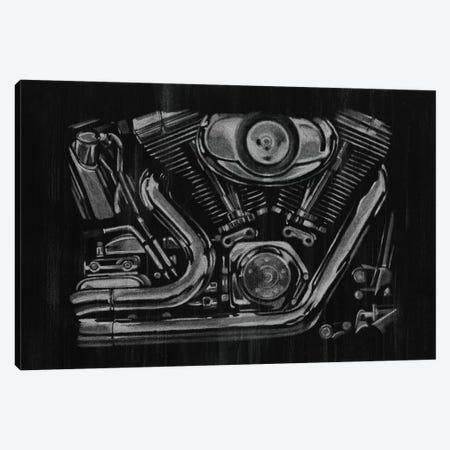 Polished Chrome II 3-Piece Canvas #EHA131} by Ethan Harper Canvas Art